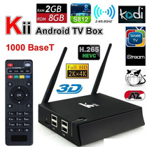 Smart Tv Box Kii Android 5.1 Lollipop,, 2g 8g, C/ Air Mouse