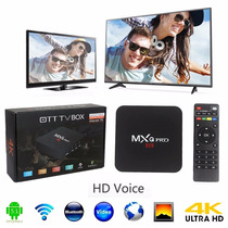 Android Tv Box Mxqpro 4k ¡modelo 2016! Wifi Kodi Netflix Hd