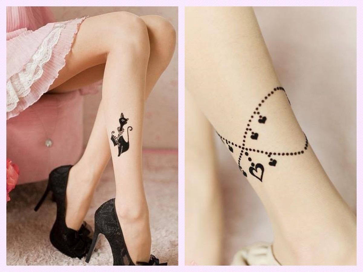 medias tatuajes tattoos importaci n jap n pastel goth