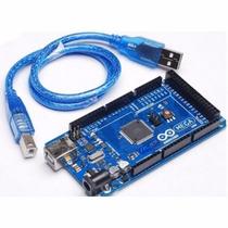 Arduino Mega 2560 + Sensor Ultrasonico De Regalo