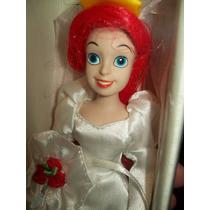Princesas Disney De Porcelana, Ariel, De Colección,importada