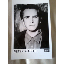 Foto Peter Gabriel