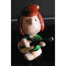 Figura Porcelana Snoopy Peppermint Retro Vintage Japon