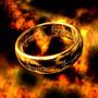 Señor De Los Anillos Hobbit!!! Chapa De Oro 18k Envio Gratis