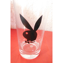 Vaso The Playboy Club Vintage Retro Black Bunny Conejo Negro