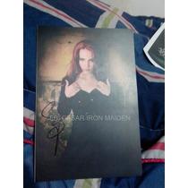 Foto Autografiada Por Simone Simons Epica Sep/14