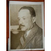 1929 Mexico Jose Vasconcelos Candidato Presidencial Foto De