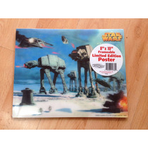 Poster 3 D Star Wars 8 X 10 Hoth Battle Edicion Limitada