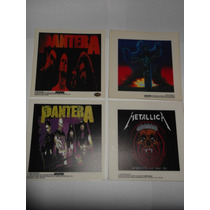 Sticker Calcamonia Oficial Magica Slayer Metallica Pantera