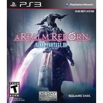 Final Fantasy Xiv: A Realm Renacer - Ps3 [código Digital]