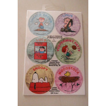 Snoopy Pogs Limited Characters Collection 1993 Retro Tazos
