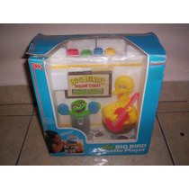Sesame Street Big Bird Cassette Player Plaza Sesamo Año 1986