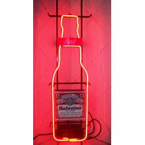 Budweiser ,anuncio Gas Neon Vintage Y Bud Racing Team