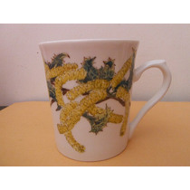 Taza Porcelana Fina - Philippa Nikulinsky Australia Botanica