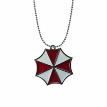 Resident Evil Collar Dije Importado Umbrella Stars Corp.