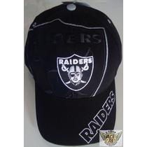 Raiders Oakland Gorra Mod.big Logo Nfl Danbr68