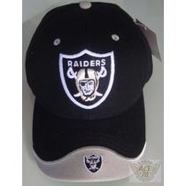 Raiders Oakland Gorra Mod.logo Vicera Gris Nfl Danbr68