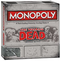 Monopolio: The Walking Dead (survival Edition)
