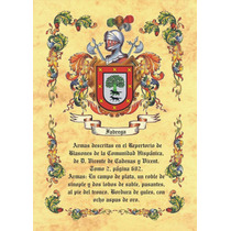 El Escudo De Tu Familia Y La Historia De Tu Apellido 2x1