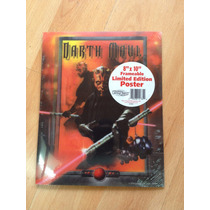 Poster 3 D Star Wars 8 X 10 Darth Maul Edicion Limitada