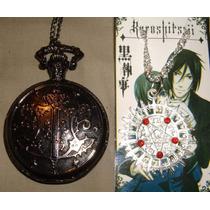 Reloj Y Dije Anime Kuroshitsuji