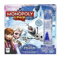 Monopoly Junior Juego Frozen Edición