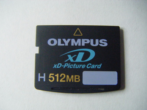 Olympus xd picture card512 mb memoria olympus xd picture card 512mb
