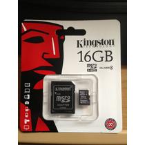 Memoria Micro Sd 16 Gb. Kingston
