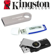 Memorias Usb 16gb Kingston Dtse9 Metalica Dt101g2, Dti G3