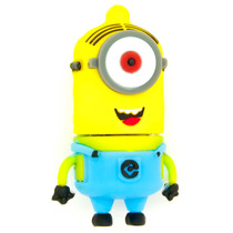 I2145 Memoria Usb Flash De Silicón Minion Phil De 8 Gb