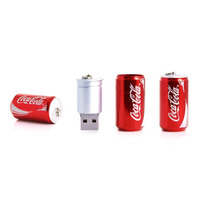 Memoria Usb Lata Coca Cola Roja 4gb, Kingston, Adata
