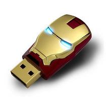 Memoria Usb 16g Iron Man, Nueva