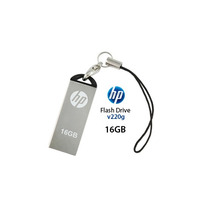 Hp® Usb Flash Drive 16 Gb Mod. V220w Metalica Mac & Pc