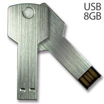 Usb Llave 3d Memoria 8gb Llavero De Metal