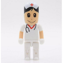 Memoria Usb 8 Gb Figura Enfermero Médico Cirujano Doctor