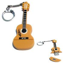 Memoria Usb Guitarra Clasica Ó Acustica 4gb