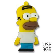 Usb Homero 3d Memoria 8gb Simpsons