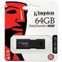 Kingston 64gb Data Traveler 100 G3 Usb 3.0 Flash Drive