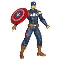 Capitán América Escudo Lanzar 10 Figura De Acción Electróni