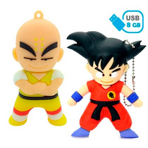 Memorias Usb 8gb Figuras Krilin Goku Nuevas Dragon Ball