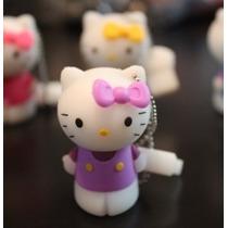 Usb 16gb Figura Hello Kitty 01 Purple