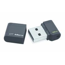 Memoria Flash Kingston Datatraveler Micro 16gb Usb 2.0 Negro