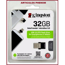 Envio Gratis Memoria Kingston Dtmicro Duo Usb 3.0 Otg 32gb