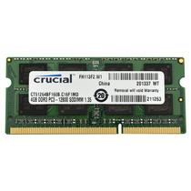 Memoria Crucial 4gb Single Ddr3 1600 Mt/s (pc3-12800) Cl11 S