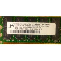 Memoria De Servidor 4 Gb Ddr2 Pc2-5300p Ecc Reg Workstation