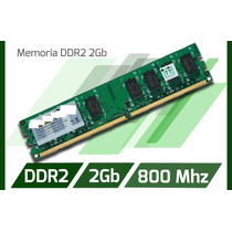 Memoria Ram Ddr2 De 2gb Pc2-6400 Bus 800mhz