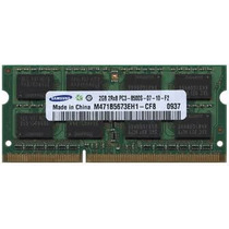 Memoria Ram 2gb Pc3-10600s Ddr3 1333mhz Sodimm Laptop