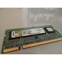Memoria Sodimm Ddr2 512mb Kingston 667mhz Pc5300