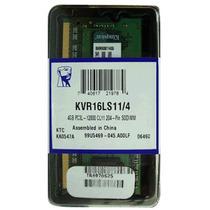 Memoria Kingston 4 Gb Para Laptop Kvr16ls11/4