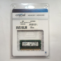 Memoria Certificada Para Mac 8gb Crucial Ddr3-1866 Mhz Apple